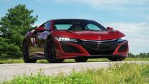 2017款讴歌NSX 混合动力超跑车