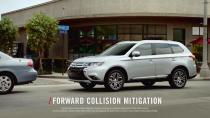 2017款欧蓝德 配多种安全驾驶辅助系统