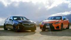 凯迪拉克CTS-V 圈速对决雷克萨斯GS F