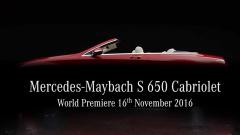 迈巴赫S 650敞篷版 洛杉矶车展即将发布