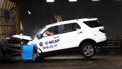 C-NCAP碰撞测试 2016款长安CX70获4星