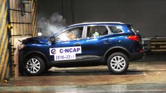 C-NCAP碰撞测试 东风雷诺科雷嘉获5星
