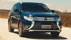 三菱新款欧蓝德 配备智能4WD系统