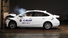 C-NCAP碰撞测试 上汽荣威i6获4星