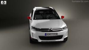 巴黎车展 C3-XR概念版模型