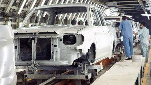中兴汽车生产流程线