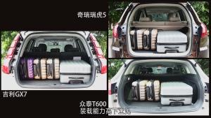 国产热门SUV尾厢功能对比