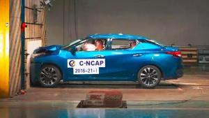 新蓝鸟C-NCAP碰撞测试