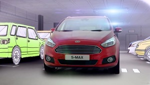 福特S-MAX自动泊车展示