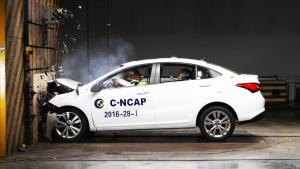 C-NCAP 艾瑞泽5荣获5星