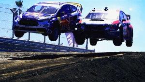 斯巴鲁赛场高能加速起飞