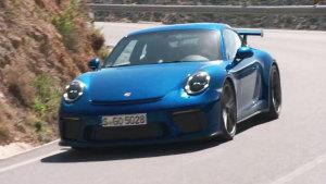 新款保时捷911 GT3动态