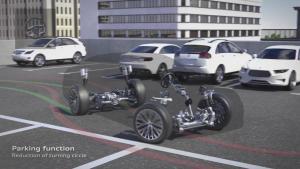 全新奥迪A8配四轮转向系统