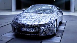 全新宝马i8 Roadster预告