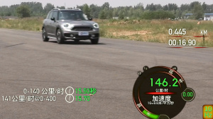 MINI COUNTRYMAN加速测试