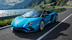 超凡性能Aventador S敞篷版