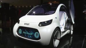 Smart Vision EQ概念车亮相