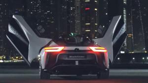2018款日产聆风电动概念车