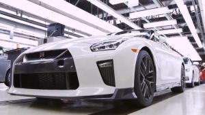 2017款日产GTR组装厂