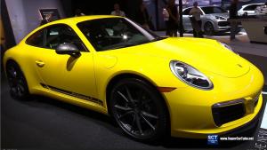 全新保时捷911 Carrera T