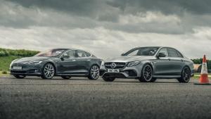 Model S对比AMG E63 S