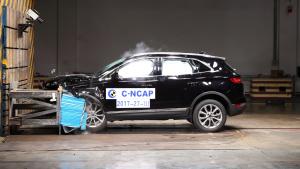C-NCAP碰撞 林肯MKC获5星
