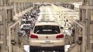 工厂探秘 最热SUV大众途观的生产过程