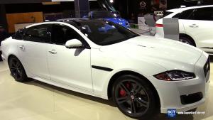 2016款捷豹XJ运动版 外观内饰细节实拍