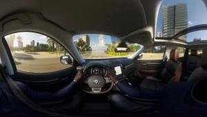 全新雷诺科雷傲 360度全景模拟驾驶