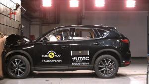 E-NCAP碰撞测试 马自达CX-5获五星