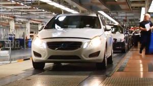 沃尔沃V60 工厂生产过程全曝光