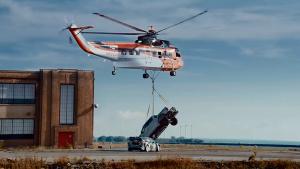 直升机高空悬吊猛禽 Ken Block逆时营救
