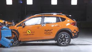 E-NCAP碰撞测试 斯巴鲁XV获五星安全
