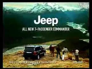 Jeep指挥官广告让你体验山顶的风光