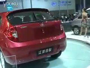 08成都车展现场--江淮同悦展区