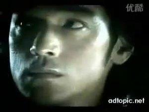 金城武拍摄三菱戈蓝广告动感十足