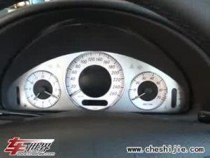 奔驰CLK350车内配置动感时尚豪华大方