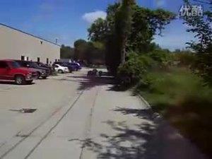 疯狂的莲花竞速城区加速测试视频