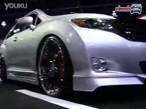 酷炫外观丰田VENZA车展让人眼花缭乱