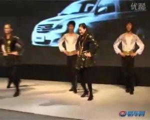 2009广州车展 一汽展台歌舞表演