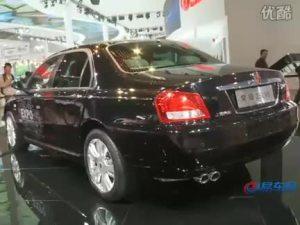 2010北京车展 上汽展台荣威750