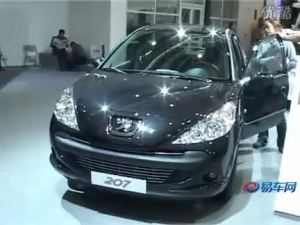 2010北京车展 灵动小巧标致207