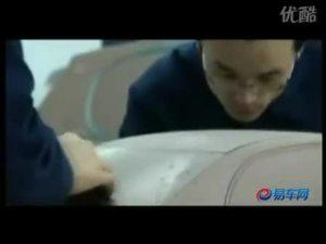 中国首台自主知识产权中级车吉利远景