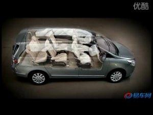 2010广州车展 2011款别克GL8安全保障篇