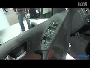 2010广州车展 大众展台白色途观R