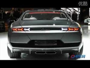 2008年巴黎车展上的四门概念兰博基尼