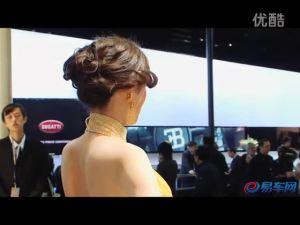 2011上海车展 玛莎拉蒂GT美女车模