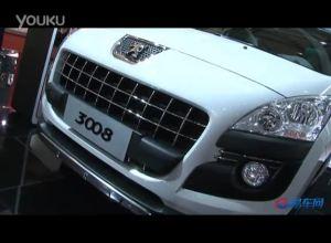 2011上海车展 标致展台3008跨界休旅车