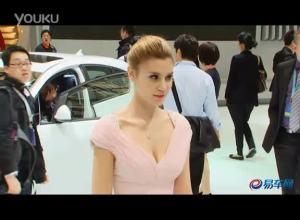 2011上海车展 别克英朗XT外籍车模