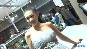 2011上海车展 雷诺美女笑容甜美